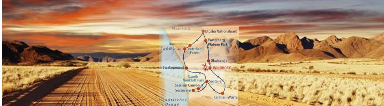 Wagner Reisen Rundreise Namibia
