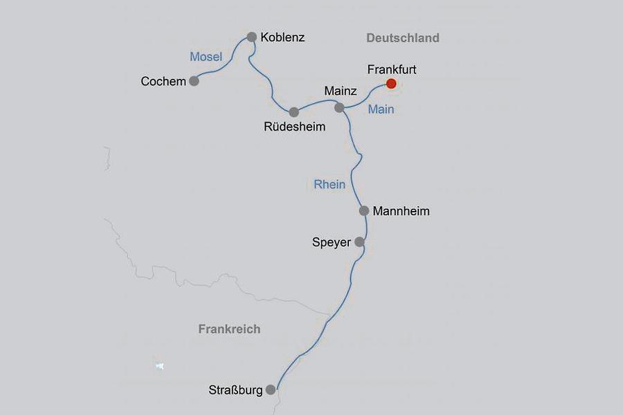 Fluss Kreuzfahrt Urlaub buchen Reisebüro Rosenheim Wagner Reisen Raubling